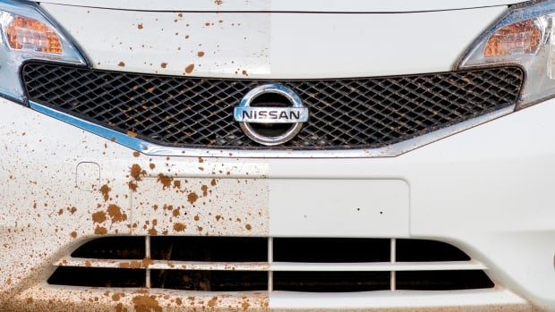 Nissan painted half of a test vehicle in a superhydrophobic paint. Mud and water just slid off the car. In other tests, rain bounced right off superhydrophobic-coated windshields in severe storms, without the use of the car's wipers.