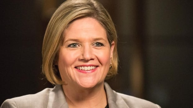 NDP Leader Andrea Horwath released her party's campaign platform on Thursday.
