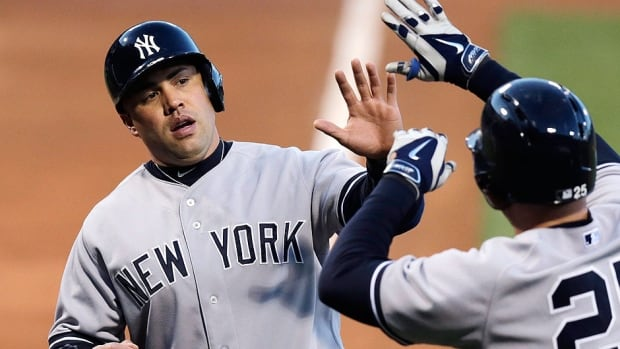 Yankees outfielder Carlos Beltran, left, might need elbow surgery after being placed on the 15-day disabled list because a pain-relief injection did not ease the effects of a bone spur in his right elbow.