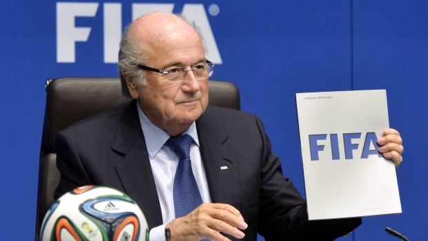 FIFA claims it is the victim of corrupt individuals, despite widespread criticism that bribe-taking was embedded in its culture in the presidencies of Joao Havelange and Sepp Blatter, pictured, who was forced from office after 17 years by the current scandal.