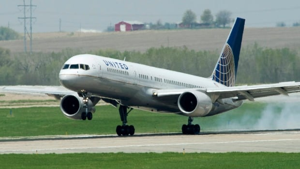 A United Airlines flight was headed for a collision with US Airways plane, reports say.