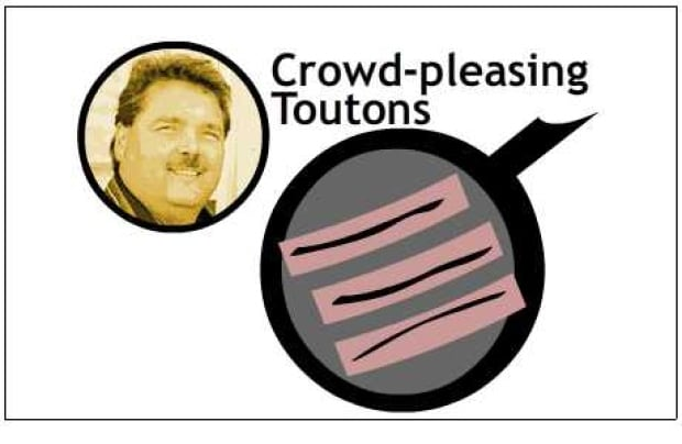 Cec's crowd-pleasing toutons