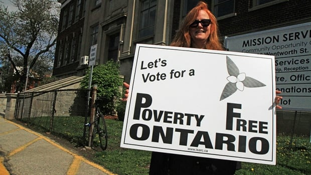 Hamilton mother of two Isabella Daley says politicians need to make poverty a priority in their election platforms.