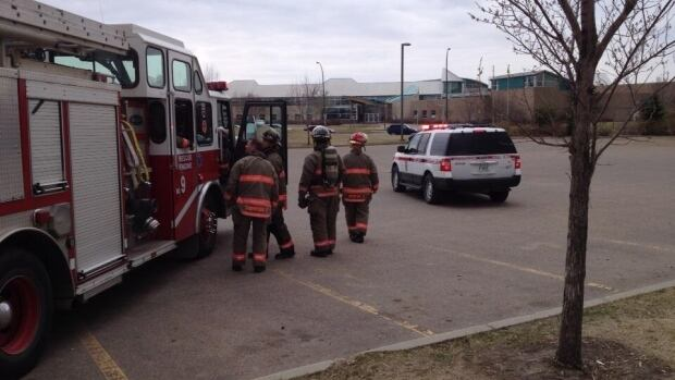 St. Joseph high school has been evacuated as police and fire crews deal with an ongoing situation.