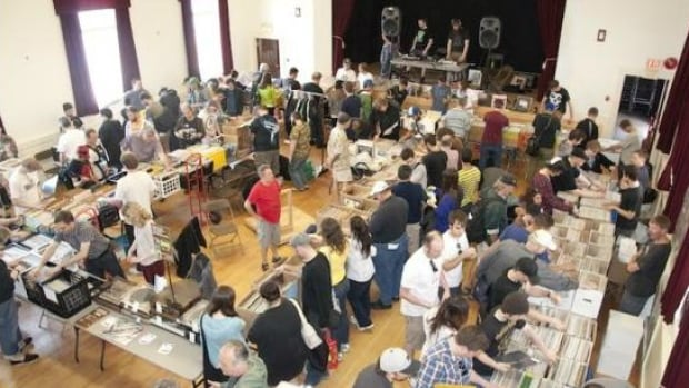 Vinyl collectors flock to the Main Street Vinyl Record Fair to buy, sell, and trade new and used vinyl.