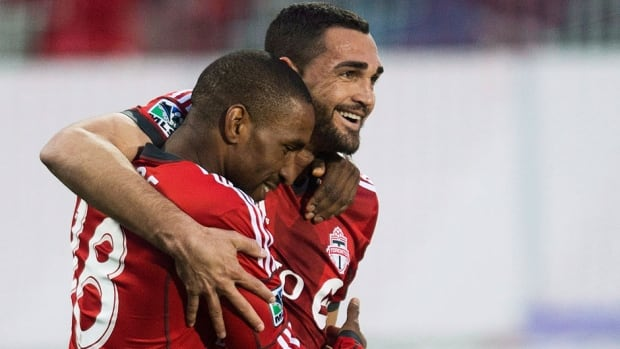 Toronto FC manager Ryan Nelson chose not to play Jermain Defoe, right, in the midweek