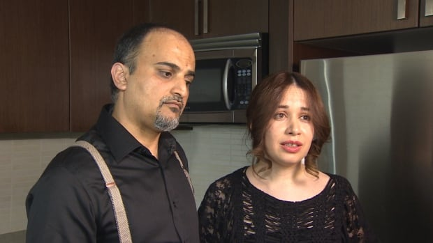 Payam Bakht and Sareh Aminian paid $15,000 to Parvaz Film to get visas to come to B.C. as temporary foreign workers. When they arrived, there were no jobs and they were asked to pay more money to keep their legal status in Canada.