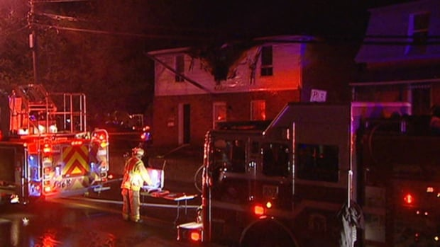 Fire crews were called to a home on Buckingham Avenue around 3 a.m. Saturday morning.