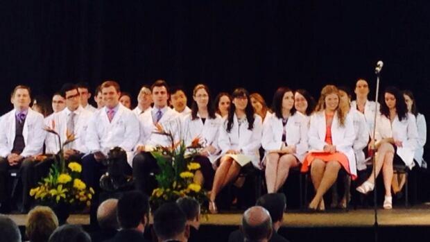 The first students to complete Dalhousie University's New Brunswick medicine program are graduating.
