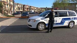 Police Ahuntsic-Cartierville bomb