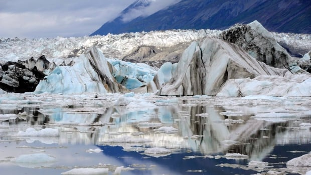 A close-up view shows the terminus of the Lowell Glacier in Kluane National Park, between B.C. and Alaska in the southwest corner of Yukon, in 2011. A U.S. report on climate change has singled out the rapid melt of glaciers in British Columbia and Alaska as a major issue.