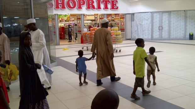 A Shoprite supermarket just opened in in Nigeria's northern city of Kano, where a car bomb killed five people Sunday on a busy street filled with popular bars and restaurants.