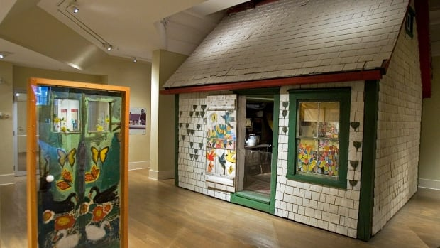 The house where Maud Lewis lived with her husband for decades is on display at the Art Gallery of Nova Scotia.