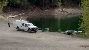 Prince George bush party drownings - Kwitzil Lake, police search