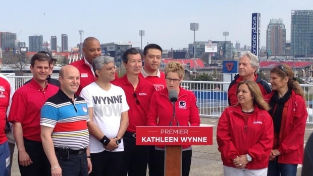 Ontario Liberal Leader Kathleen Wynne said Monday her party would not support condos or another type of large residential development at Ontario Place.