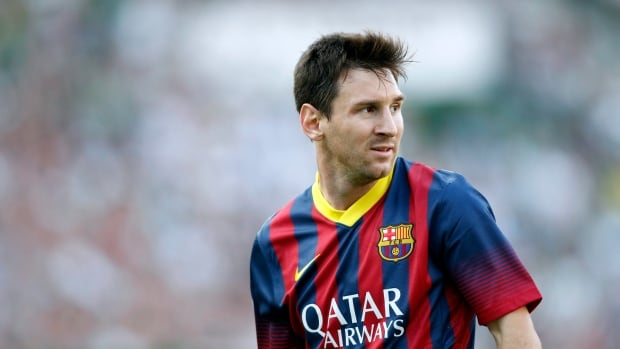 Barcelona's Lionel Messi is seen during a Spanish La Liga soccer match against Elche at the Martinez Valero stadium in Elche, Spain, last week.