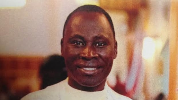 Father Gilbert Dasna was originally from Cameroon. He had been Canada for three years.