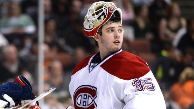 Canadiens goalie Dustin Tokarski made his NHL playoff debut on Monday against the Rangers in Game 2 of the NHL Eastern Conference final. He spent most of this season with the AHL's Hamilton Bulldogs but won two of three appearances with the Canadiens, fashioning a 1.84 GAA and .946 save percentage.