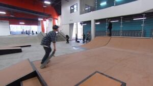 Youth for Christ skaterboarder