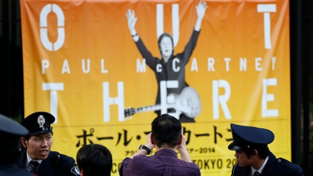 The most expensive tickets available for McCartney's tour of Japan cost about $1,000 each.