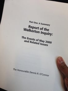 Report of the Walkerton Inquiry