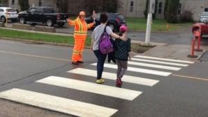 Fredericton school crossing guard