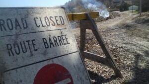 Beach Road closed
