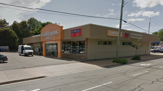 This Lawtons Drugs store on Duffus Street in Halifax was robbed Tuesday.