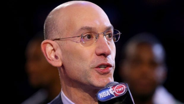"""NBA Commissioner Adam Silver says the NBA is """"pursuing the right course here and doing the right thing"""" in trying to end Donald Sterling's ownership of the L.A. Clippers following his racist comments."""