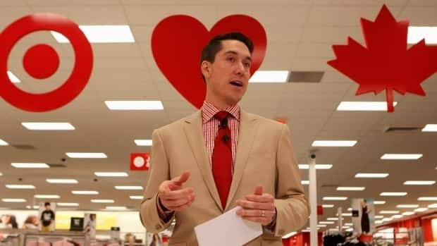 Target's Canadian head fired