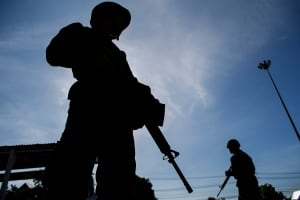 THAILAND martial law coup soldiers