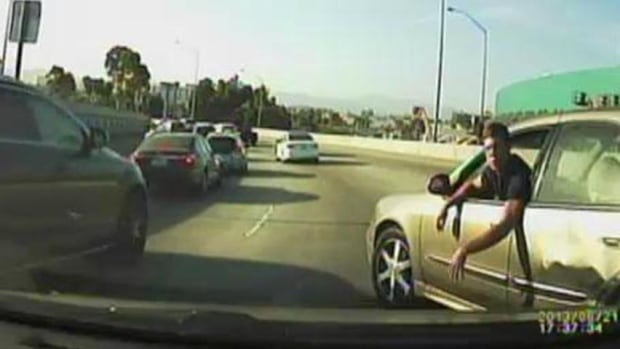 Road rage can range from an angry gesture to physical confrontation