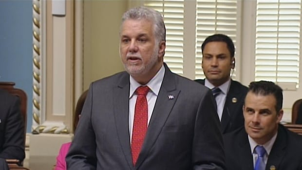 Quebec Premier Philippe Couillard said his government will need to make tough decisions to rein in the province's deficit.
