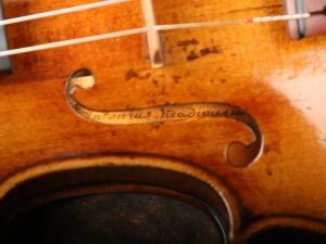 Violins recovered 2