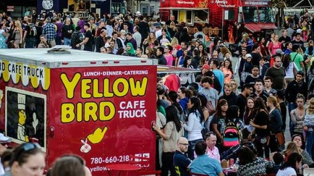 What the Truck will serve up a delivious buffet of mobile foods along 104th Street Saturday night.
