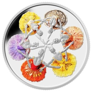 Royal Winnipeg Ballet coin
