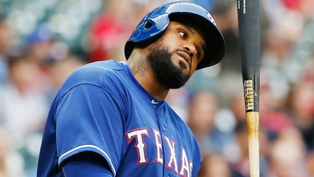 Texas Rangers first baseman Prince Fielder is hitting .247 in 42 games this season with three home runs and 16 runs batted in.