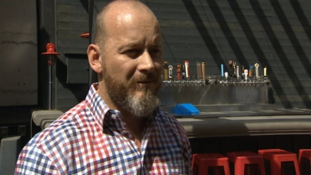 Operations manager Sean Harney says Craft's patio application initially got lost.