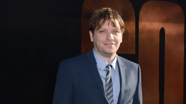 Director Gareth Edwards arrives at the LA premiere of Godzilla at Dolby Theatre on Thursday, May 8, 2014, in Los Angeles.