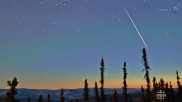 Last-chance meteor shower?