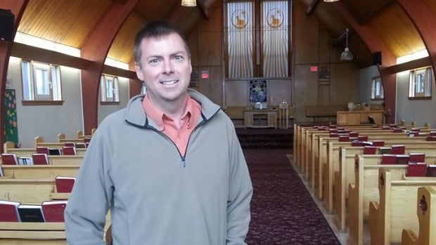 Rev. Dave Legrand of Trinity United Church was shocked and warmed by generous donations made after last winter's pie theft.