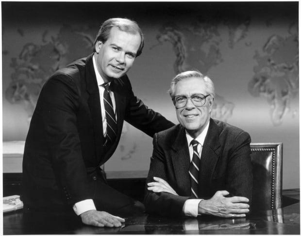 Knowlton Nash and Peter Mansbridge