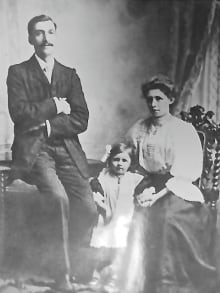 William Clark with Lavinia and Nellie
