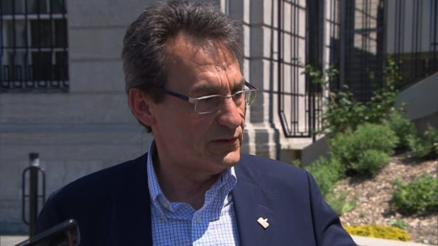 Projet Montréal's Richard Bergeron says the provincial government is not considering all of its options when it comes to light rail transit for the new Champlain Bridge.