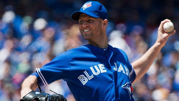 The Blue Jays' J.A. Happ turned in his strongest performance of the season, pitching seven shutout innings with seven strikeouts in a 3-1 victory over the visiting Oakland Athletics on Sunday. He is part of a Blue Jays rotation that has stood out during the team's 16-5 run.
