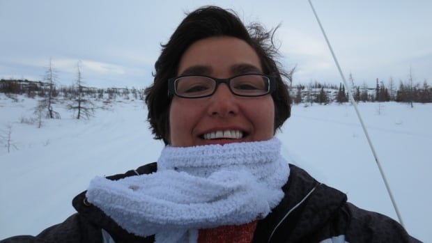 Johanna Tuglavina was flying from Hopedale to Nain on Monday when she had to use a Tim Hortons cup and a plastic bag to pee in. The plane had no washroom on board, and the washrooms at the two airstrips in Labrador that she stopped at were out of order.