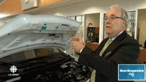 Gary Aguinaga, sales manager at Rallye Motors Nissan in Moncton
