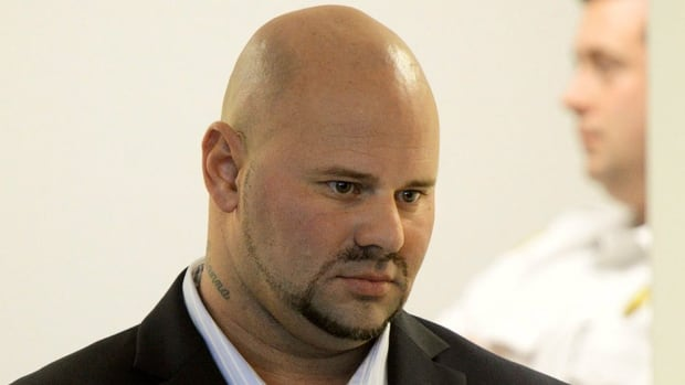 Jared Remy, son of Boston Red Sox broadcaster Jerry Remy, is seen here during his arraignment last Oct. 8. On Tuesday, he pleaded guilty to first-degree murder in the stabbing of his girlfriend.