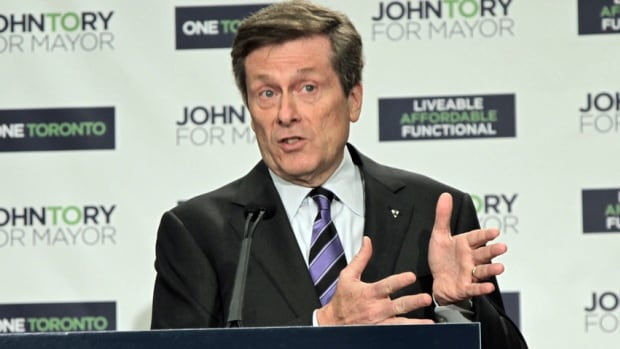 Toronto mayoral candidate John Tory scoes high marks from experts for his SmartTrack plan.