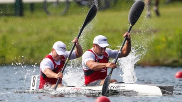 Austin Denman competed in the 2013 U23 World Championships for K2 200m in Welland, ON.